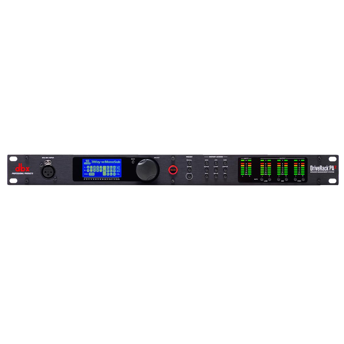 PA2 - Processador de Áudio DriveRack 110V PA 2 - DBX