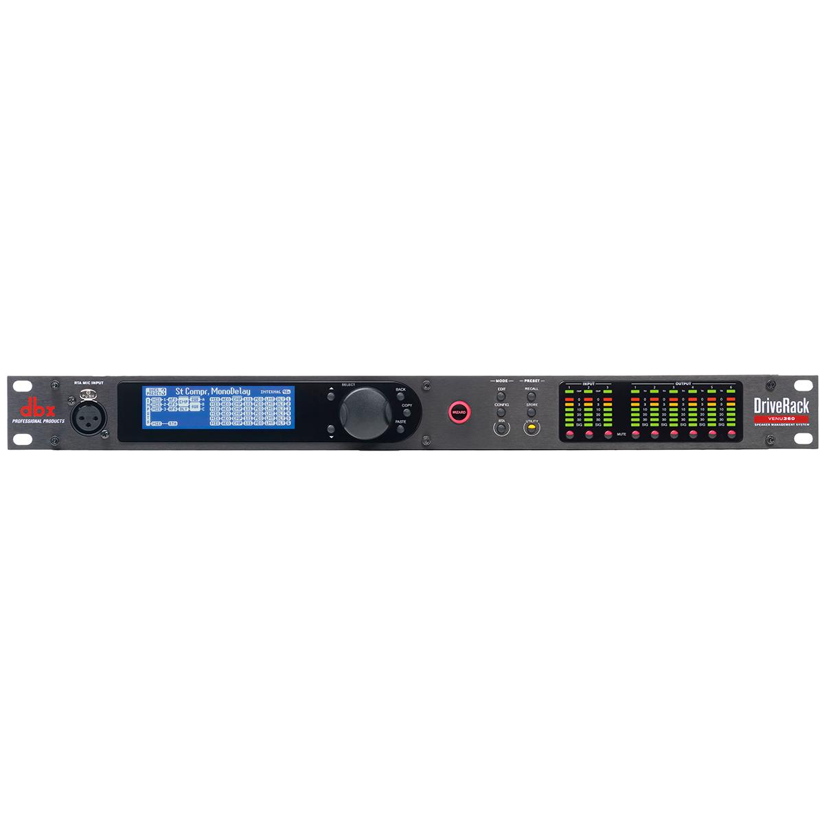 Venu360 - Processador de Áudio DriveRack Venu 360 - DBX