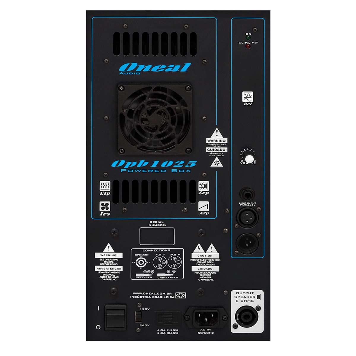 Caixa Ativa Fal 15 Pol 400W - OPB 1025 Oneal