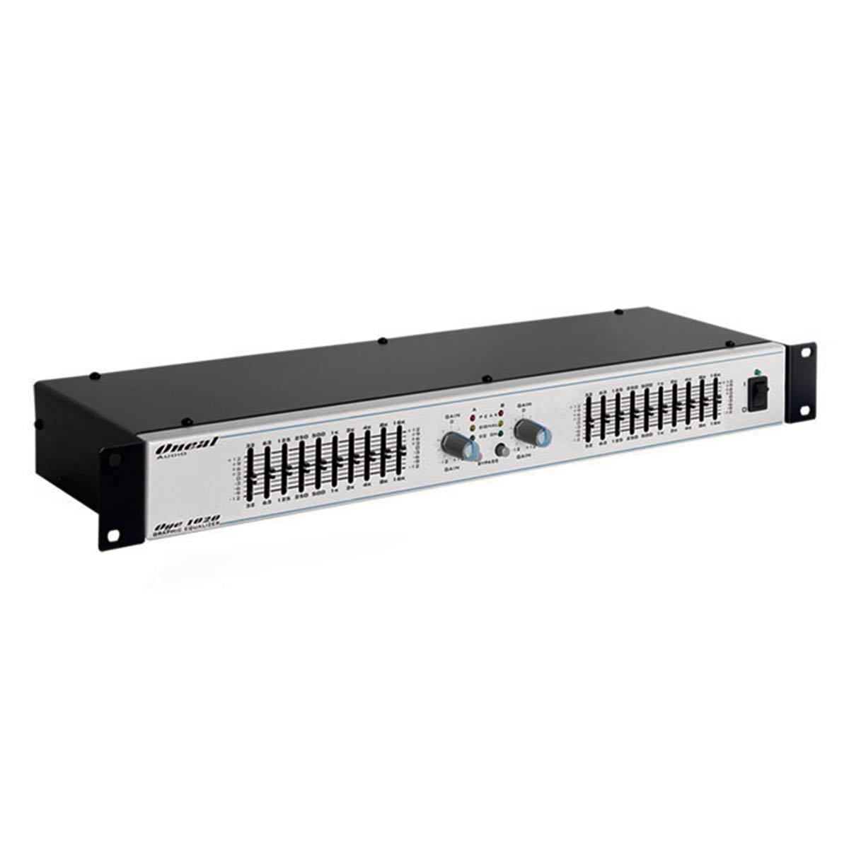OGE1020 - Equalizador Gr�fico 10 Bandas OGE 1020 - Oneal