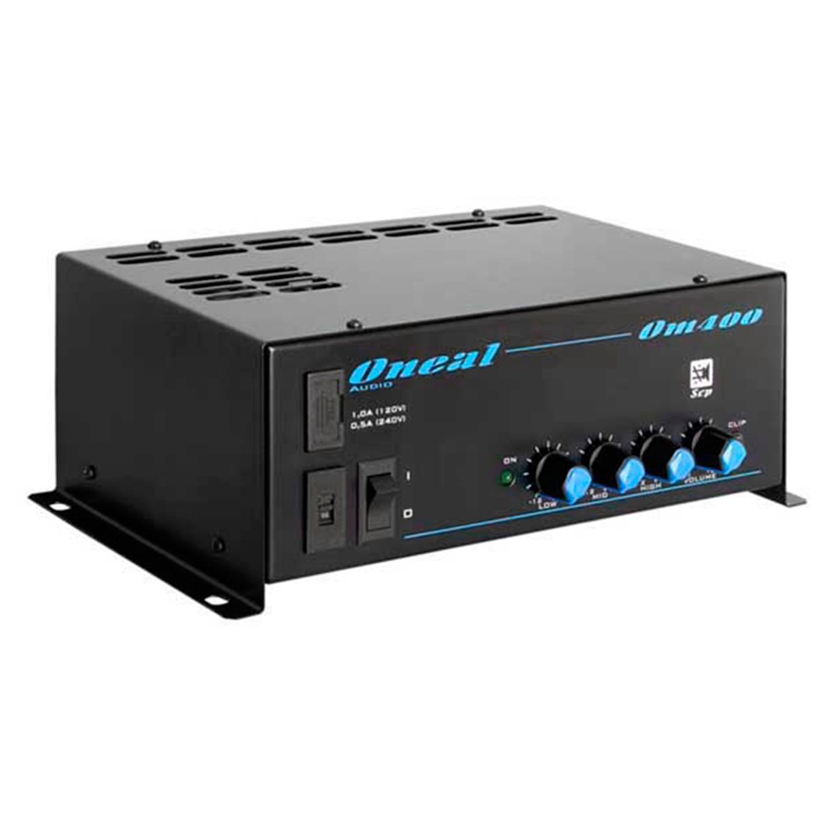 OM400 - Cabe�ote Multiuso 1 Canal 100W OM 400 - Oneal