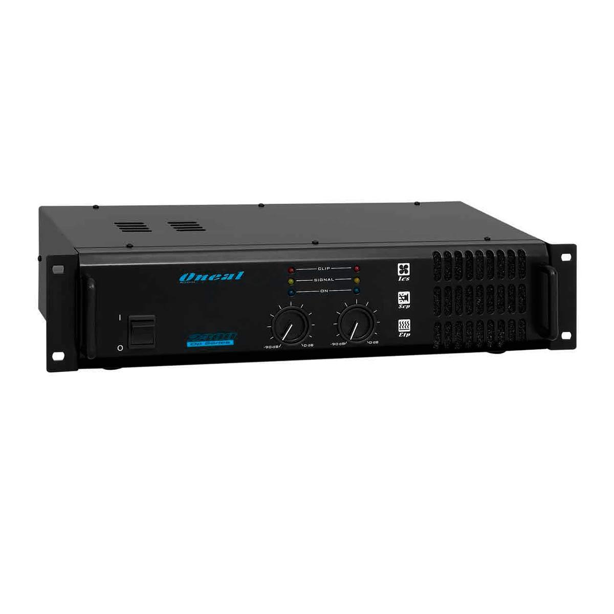 Amplificador Estéreo 2 Canais 400W RMS ( Total ) OP 2300 - Oneal