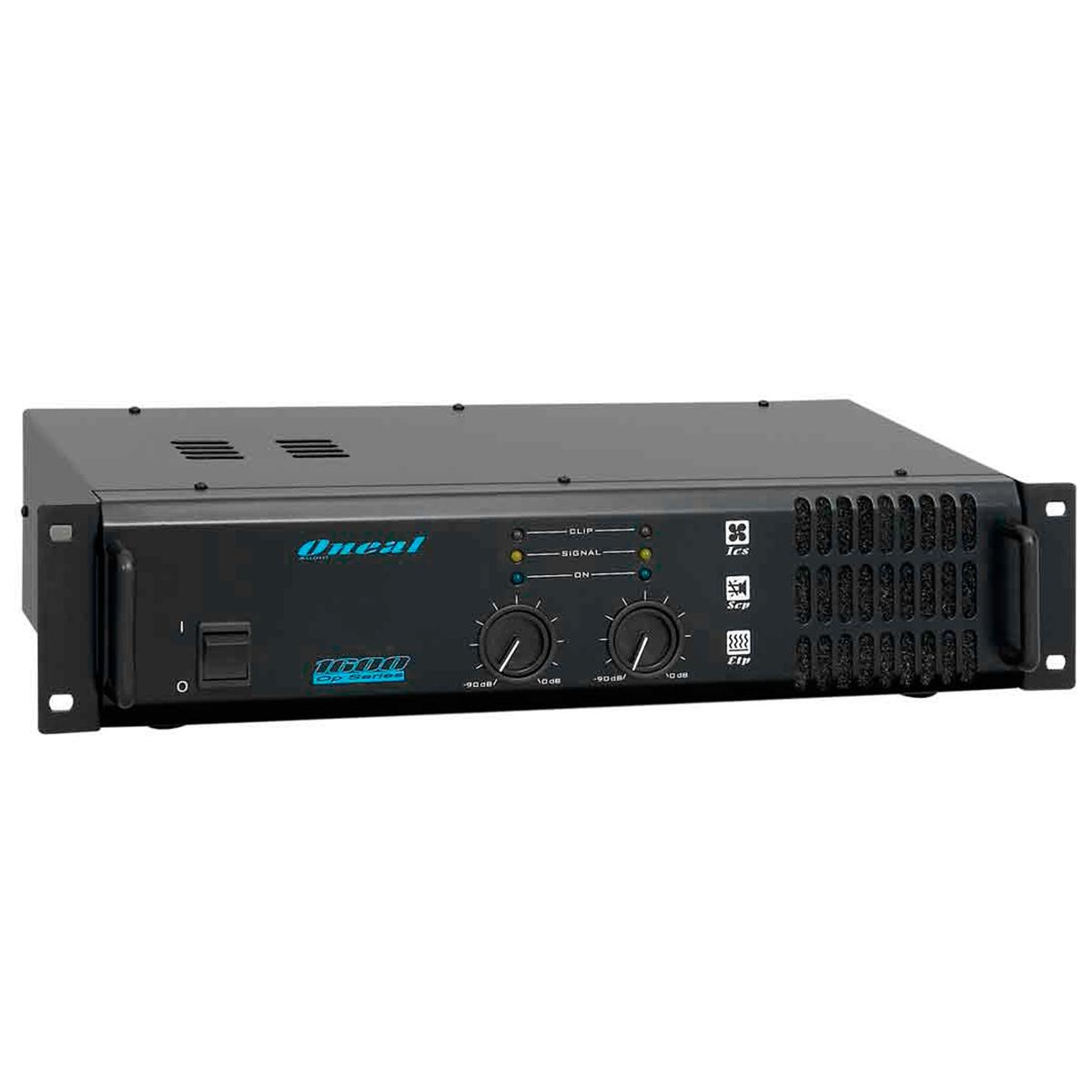 OP1600 - Amplificador Estéreo 2 Canais 220W OP 1600 - Oneal