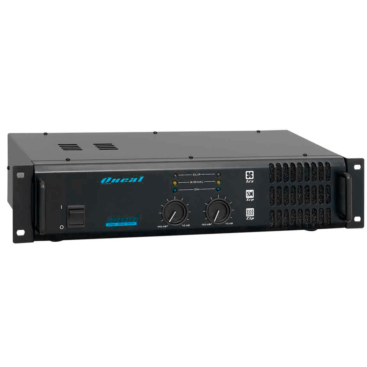 Amplificador Estéreo 2 Canais 290W RMS ( Total ) OP 2000 - Oneal