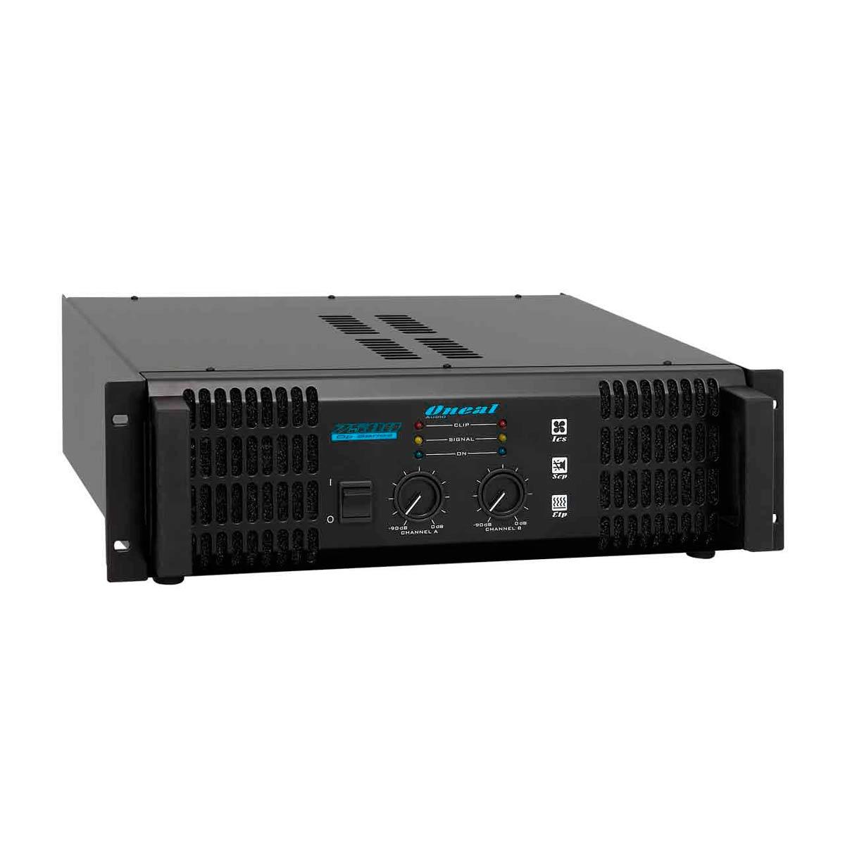 Amplificador Estéreo 2 Canais 1300W OP 7500 - Oneal