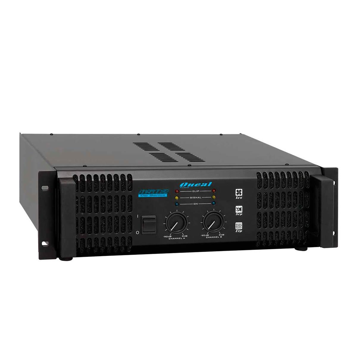 OP8502 - Amplificador Estéreo 2 Canais 1000W OP 8502 - Oneal