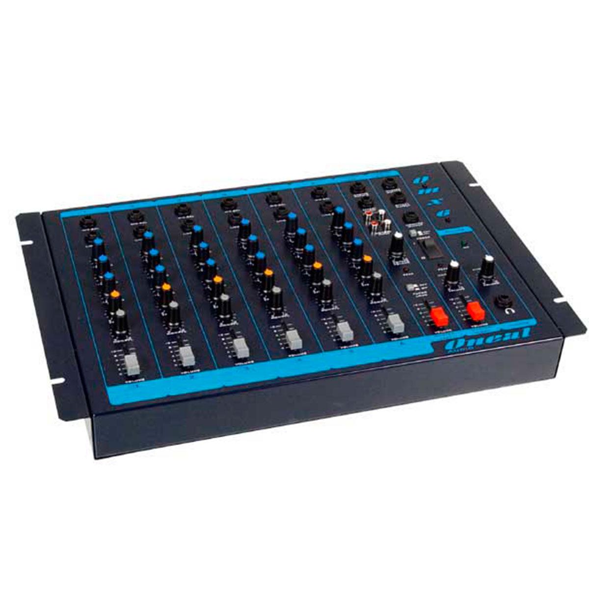 OMX6 - Mesa de Som / Mixer 6 Canais OMX 6 - Oneal
