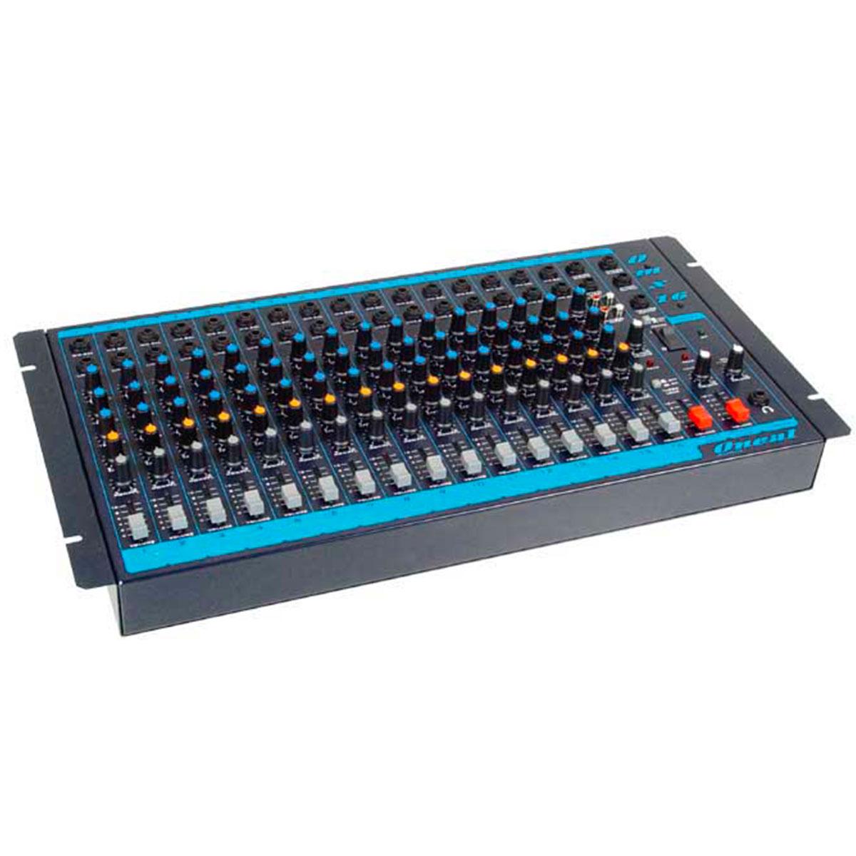 OMX16 - Mesa de Som / Mixer 16 Canais OMX 16 - Oneal