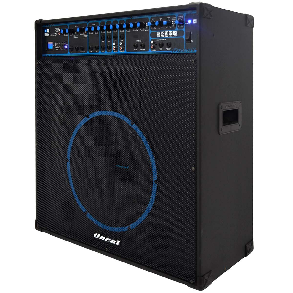 Cubo Multiuso Fal 15 Pol 300W c/ USB / Bluetooth - OCM 3090 Oneal