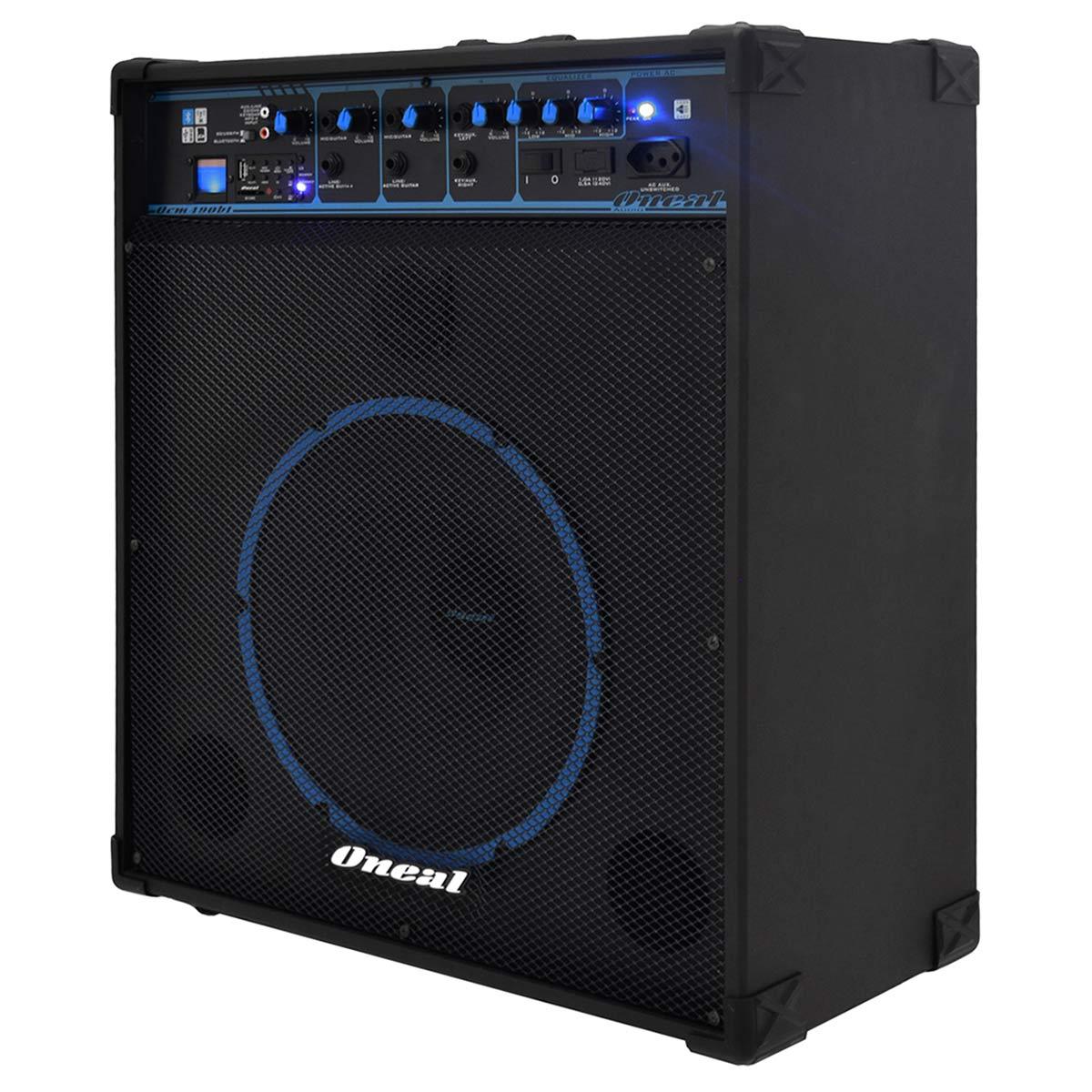 OCM490BT - Cubo Multiuso Ativo 80W c/ Bluetooth e USB OCM 490 BT - Oneal