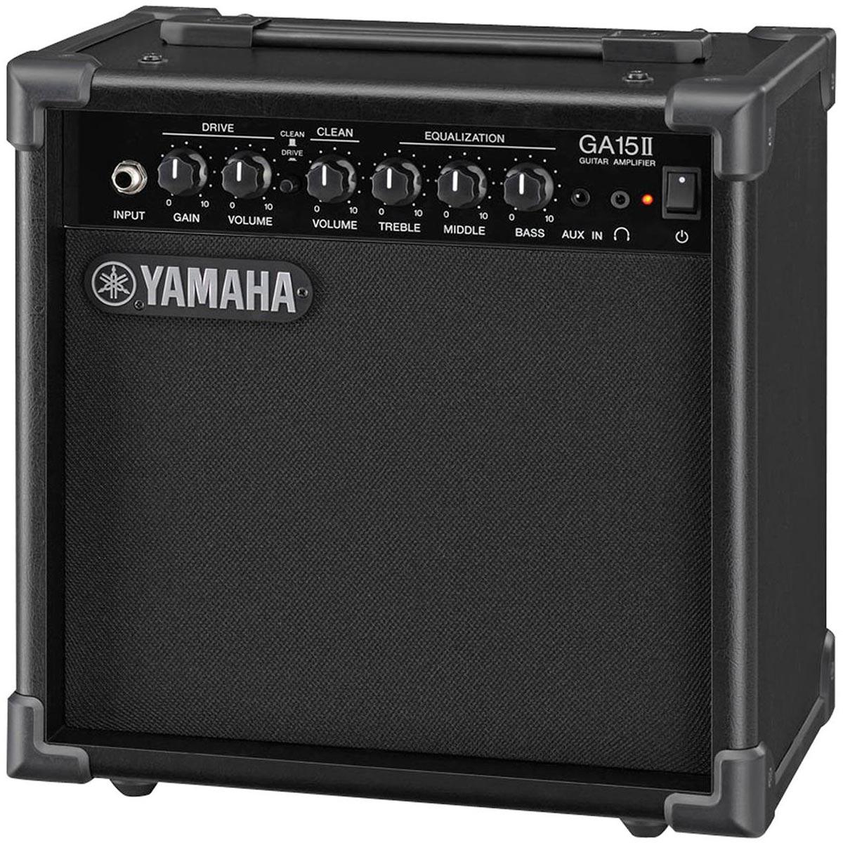 GA15II - Cubo Amplificador p/ Guitarra GA 15 II - Yamaha