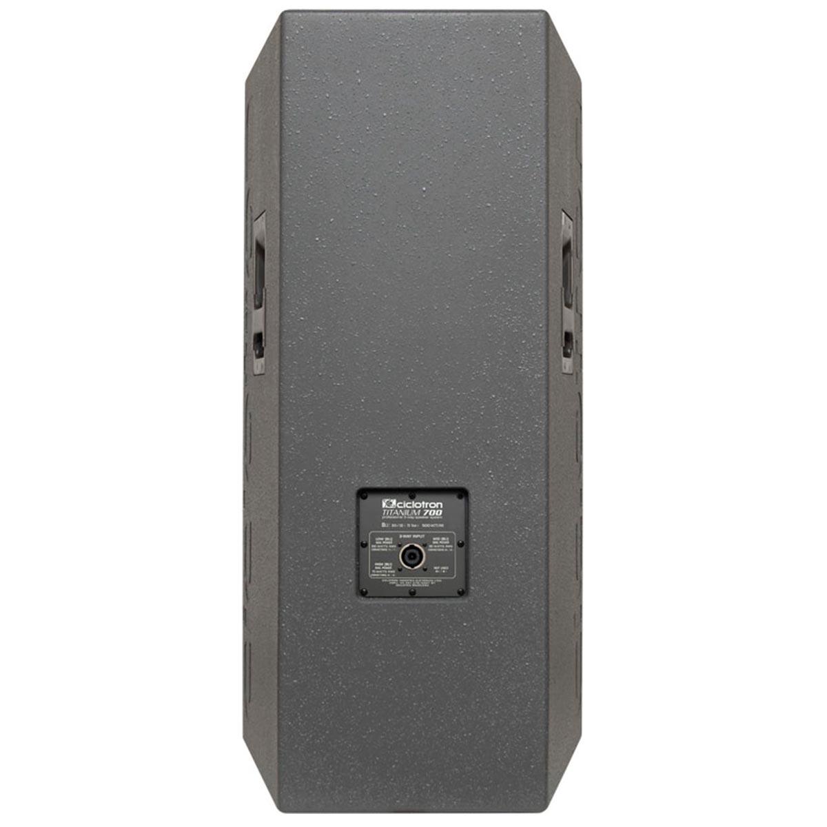 700 - Caixa Passiva 300W Titanium 700 - Ciclotron