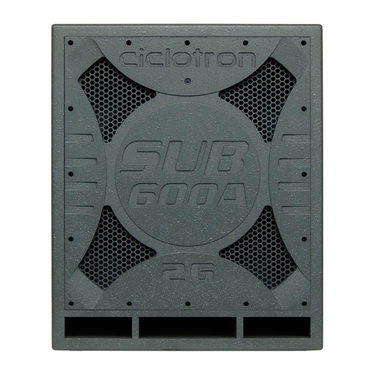600A - Subwoofer Ativo 600W SUB 600 A - Ciclotron