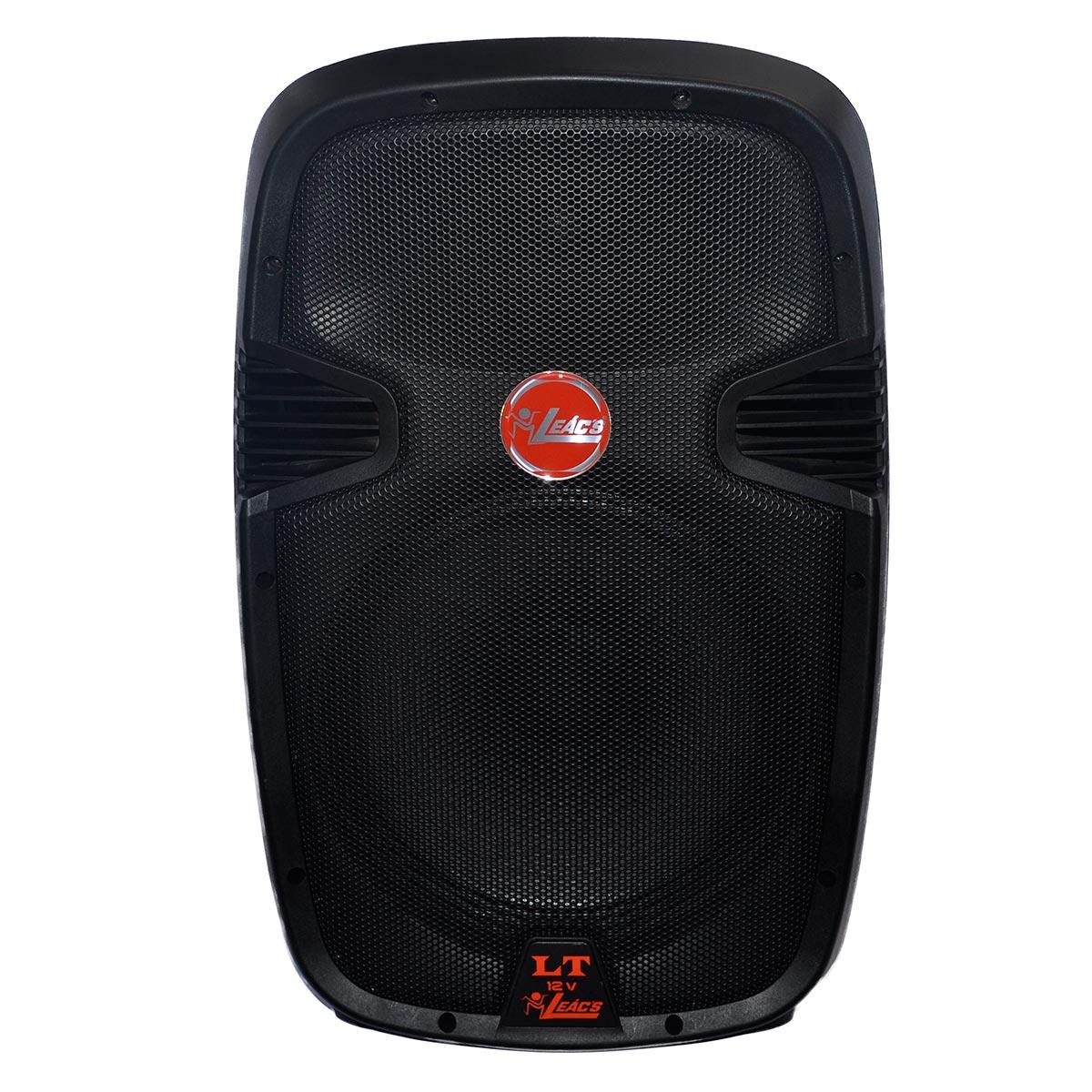 Caixa Acústica Leacs Preto 150 W Rms Lt1212v