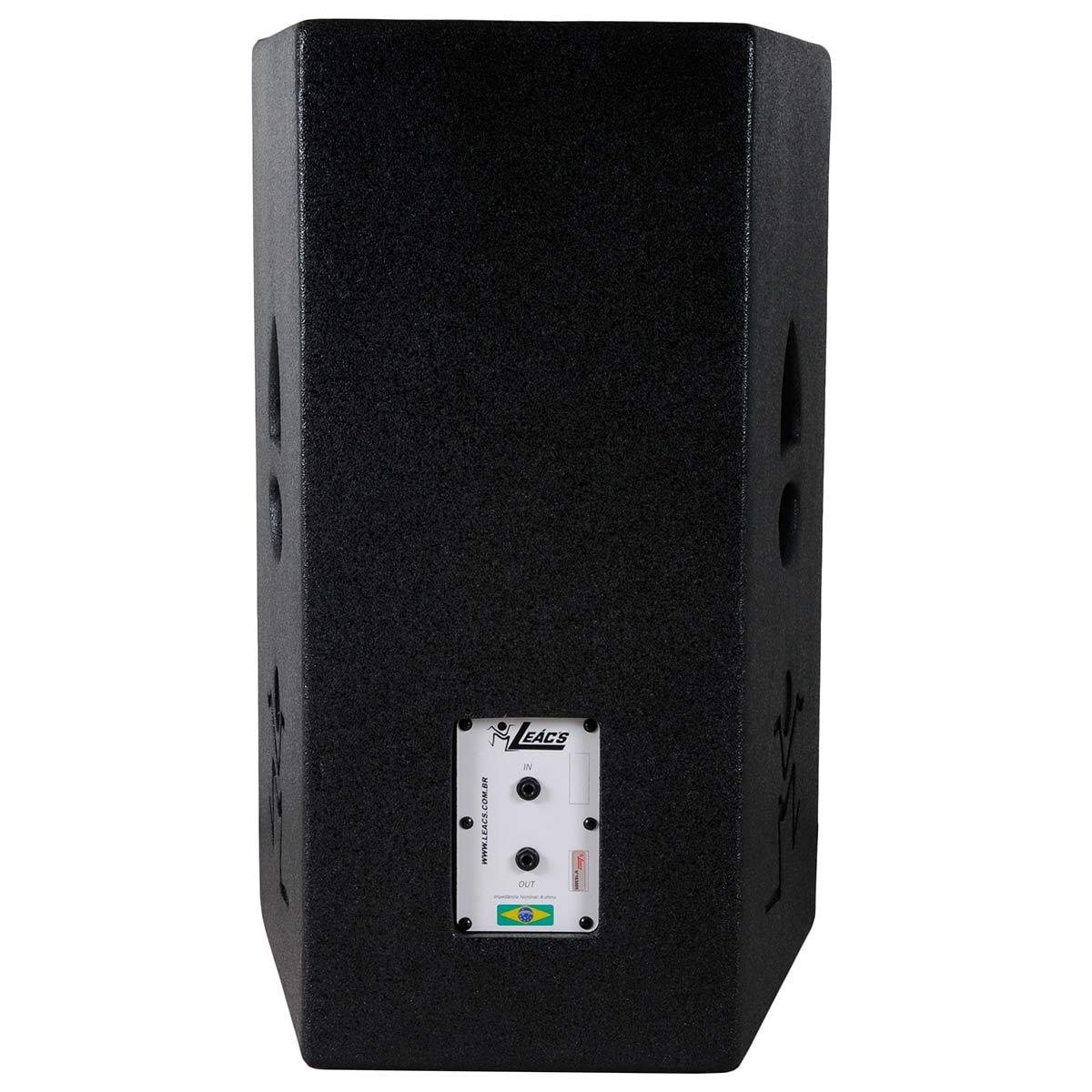 Caixa Passiva 250W Happy 15 TI ( 2 Vias ) - Leacs