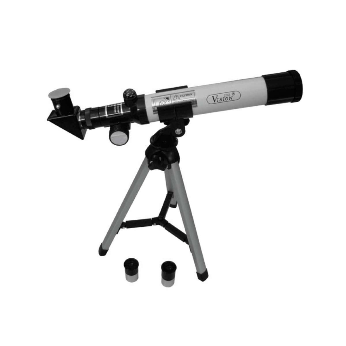 F40040M - Telescópio 40mm c/ Tripé F400 40M - CSR