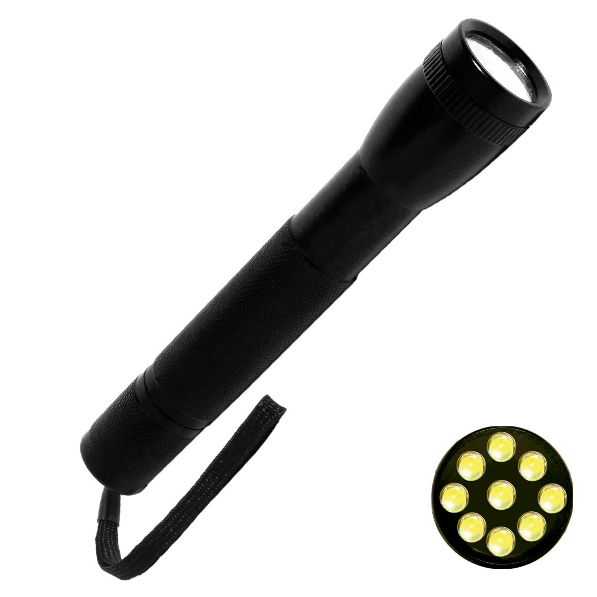 CSR8531B - Lanterna de Alumínio 9 LEDs CSR 8531 B - CSR