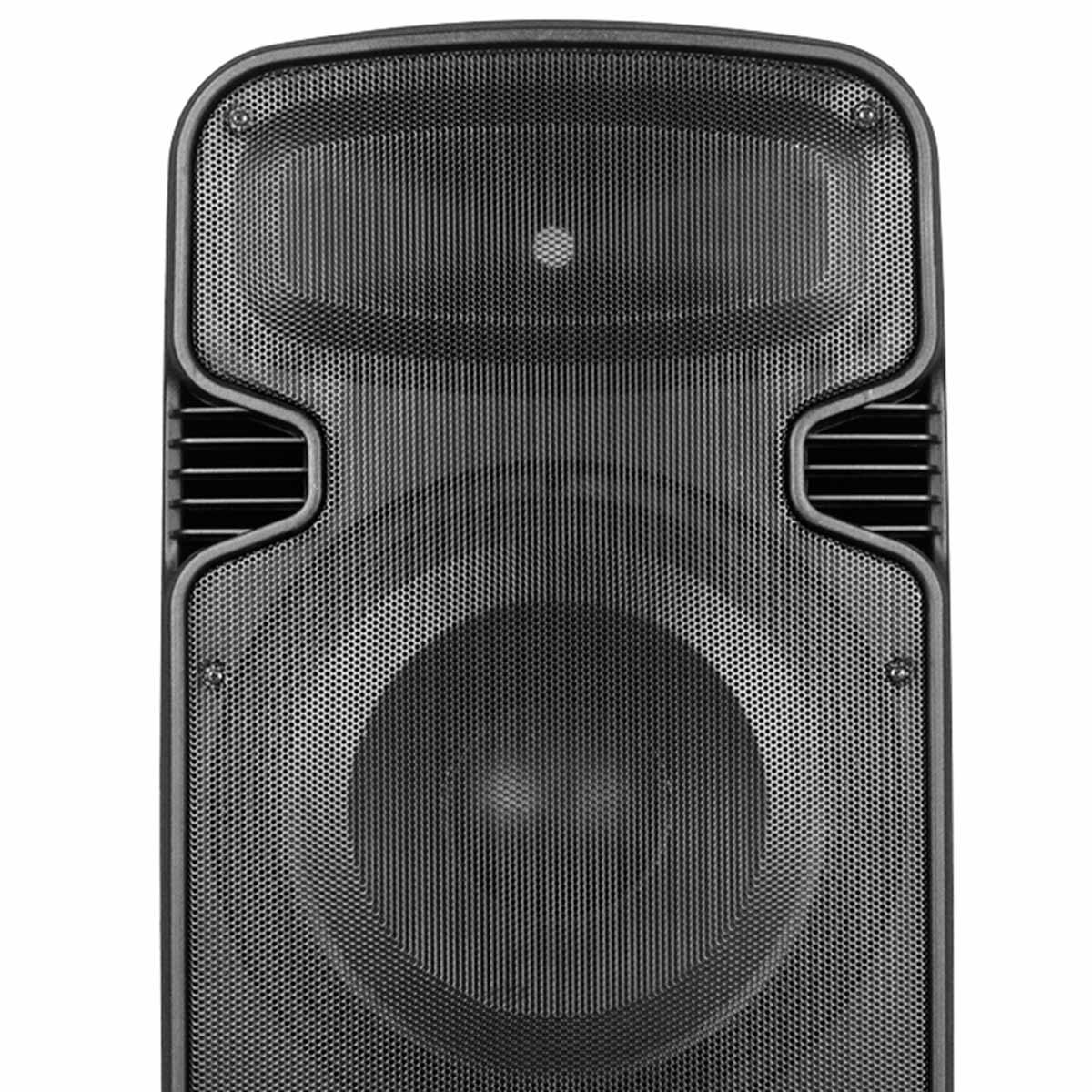 EvodBravery215 - Caixa Ativa 450W c/ Bluetooth e USB Evod Bravery 215 - Novik Neo