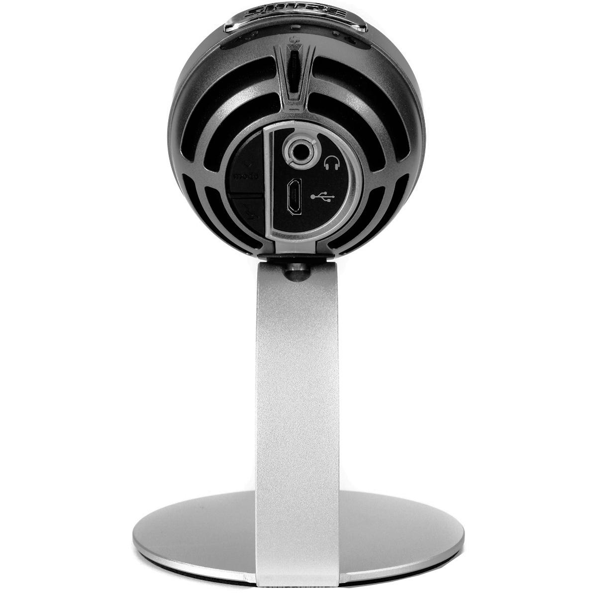 MV5 - Microfone Condensador Digital USB Prata MOTIV MV 5 - Shure