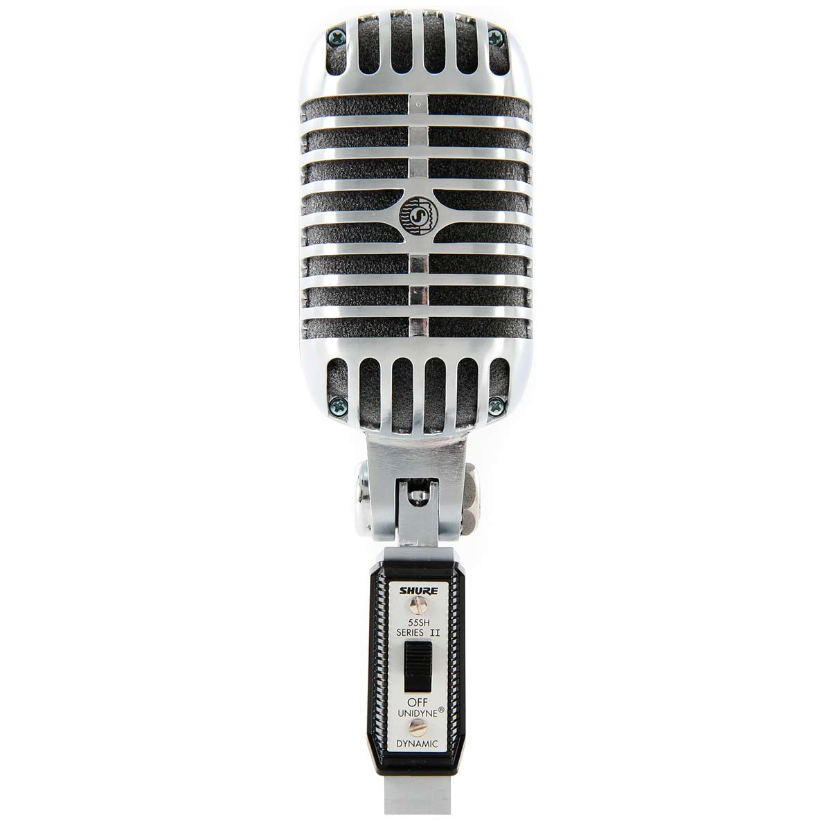 55SH - Microfone c/ Fio de M�o UNIDYNE 55 SH SERIES II - Shure