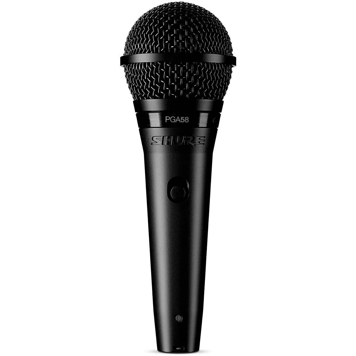 PGA58XLR - Microfone c/ Fio de M�o PGA 58 XLR - Shure