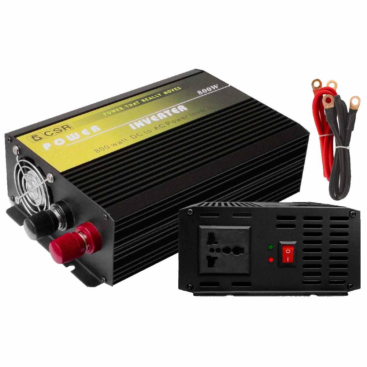 Inversor de Força 800W 24V para 220V - CSR
