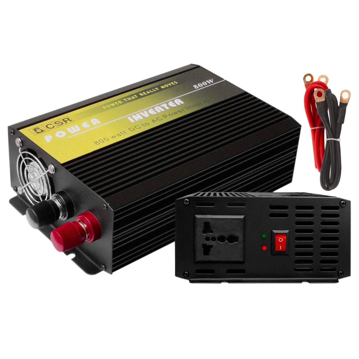 Inversor de Força 800W 12V para 220V - CSR