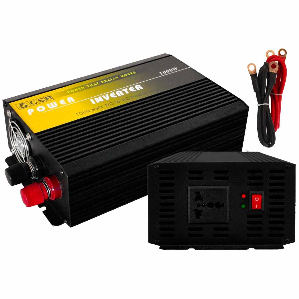Inversor de Força 1000W 12V para 110V - CSR