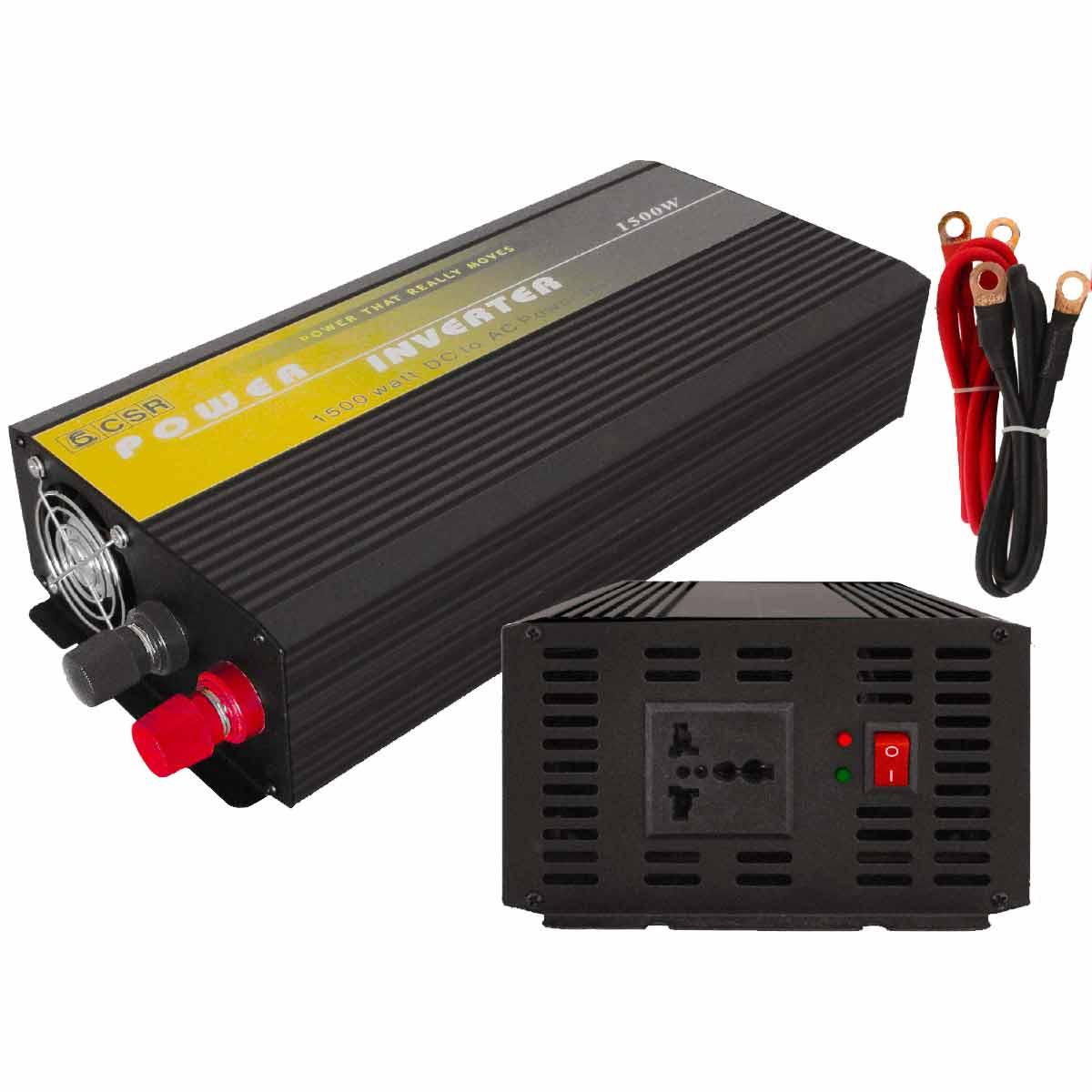 Inversor de Força 1500W 24V para 110V - CSR
