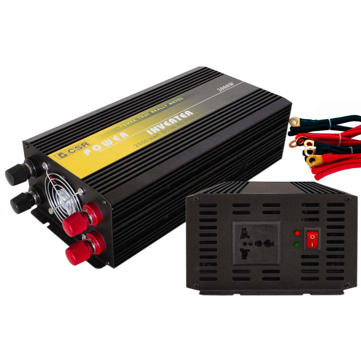 Inversor de For�a 2000W 24V para 110V - CSR