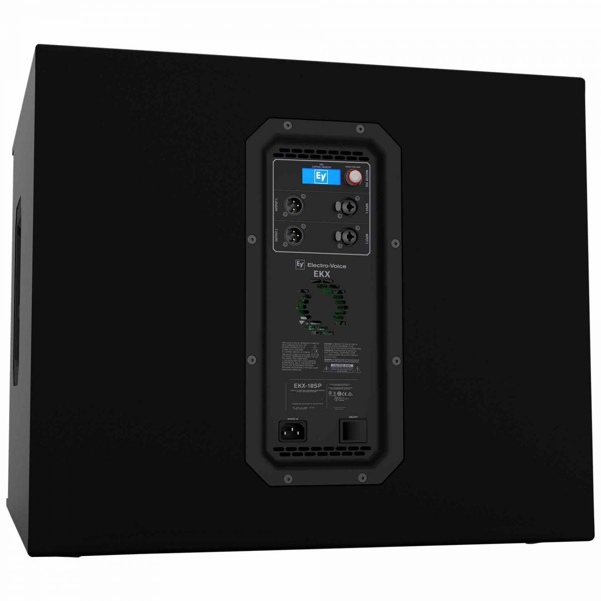 EKX18SPUS - Subwoofer Ativo 1300W EKX 18SP US - Electro-Voice