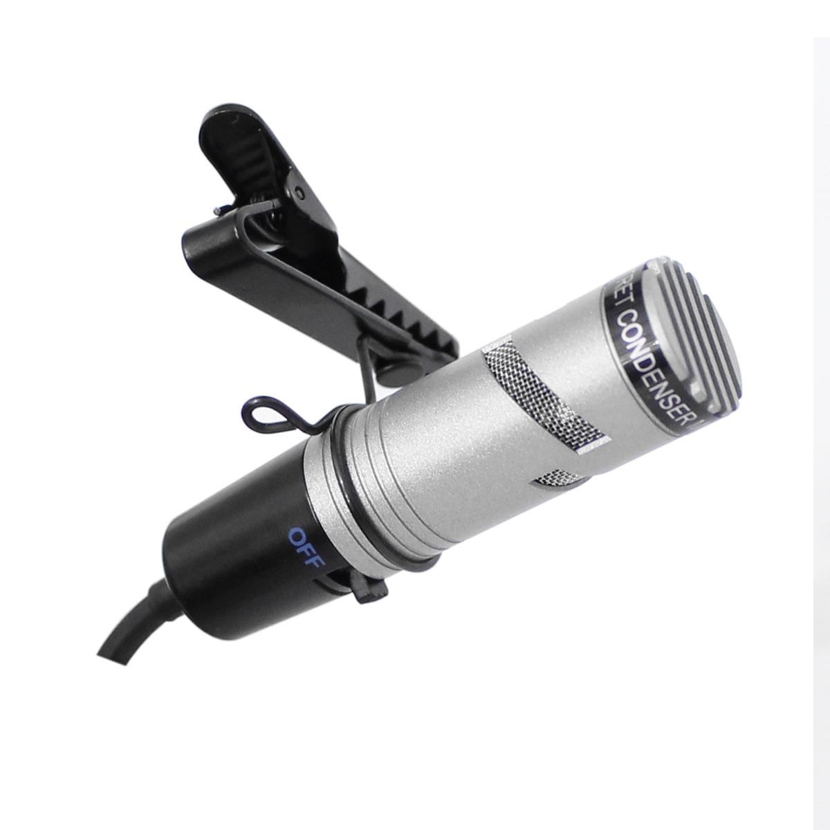 Microfone c/ Fio Lapela / Mesa - SC 400 YOGA