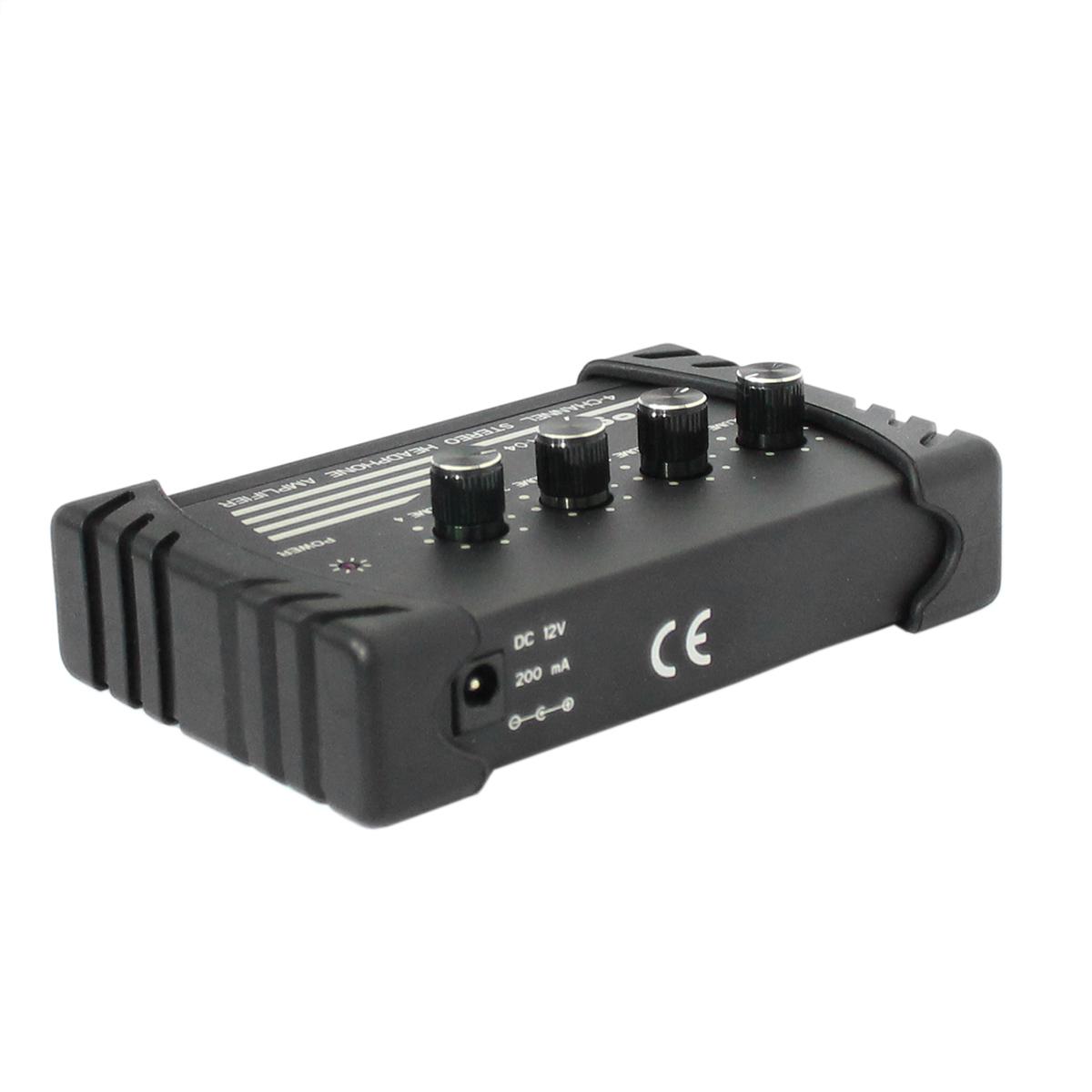 HA04 - Amplificador para 4 Fones HA 04 - YOGA