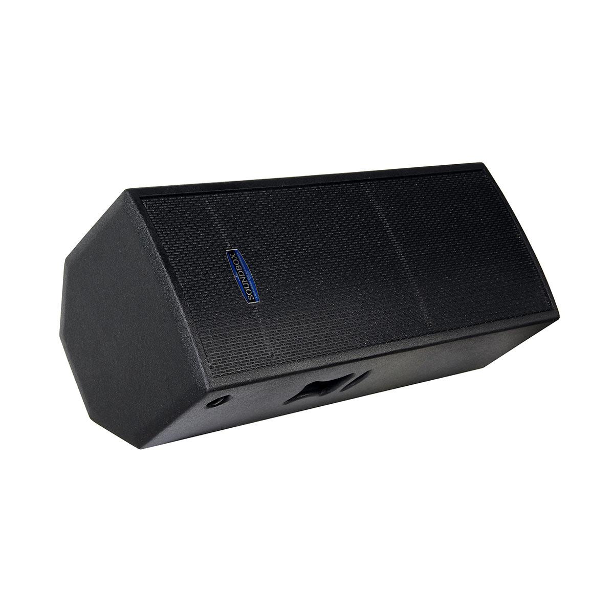 MS15 - Caixa Ativa 800W MS 15 Dupla Preta - SoundBox