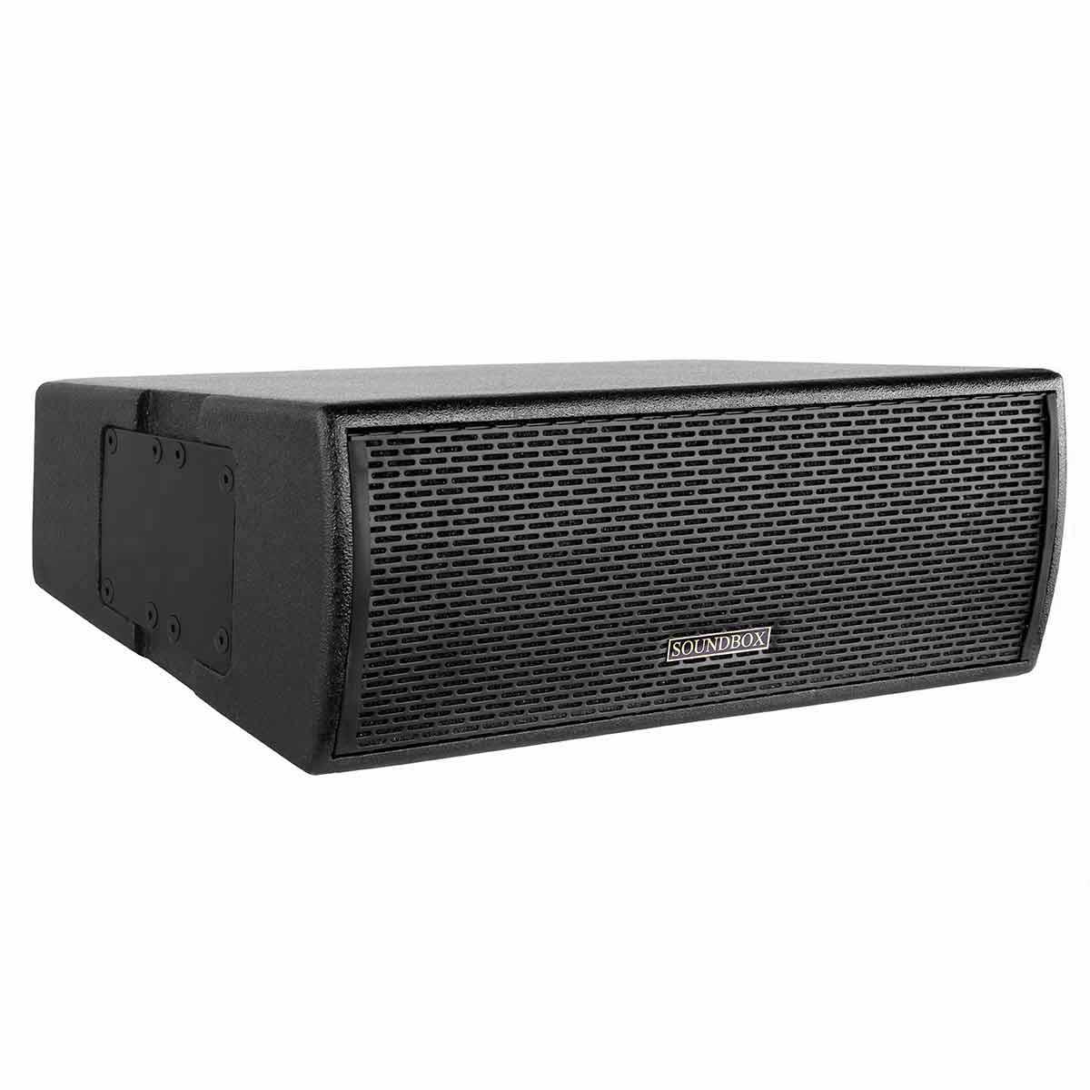 PRO206T - Caixa Ativa Line Array 500W PRO 206T Preta - SoundBox