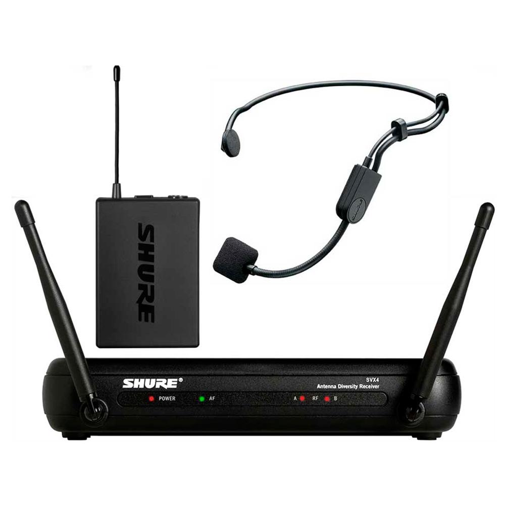 SVX14BRPGA31 - Microfone s/ Fio Headset / Cabeça SVX 14BR PGA31 - Shure