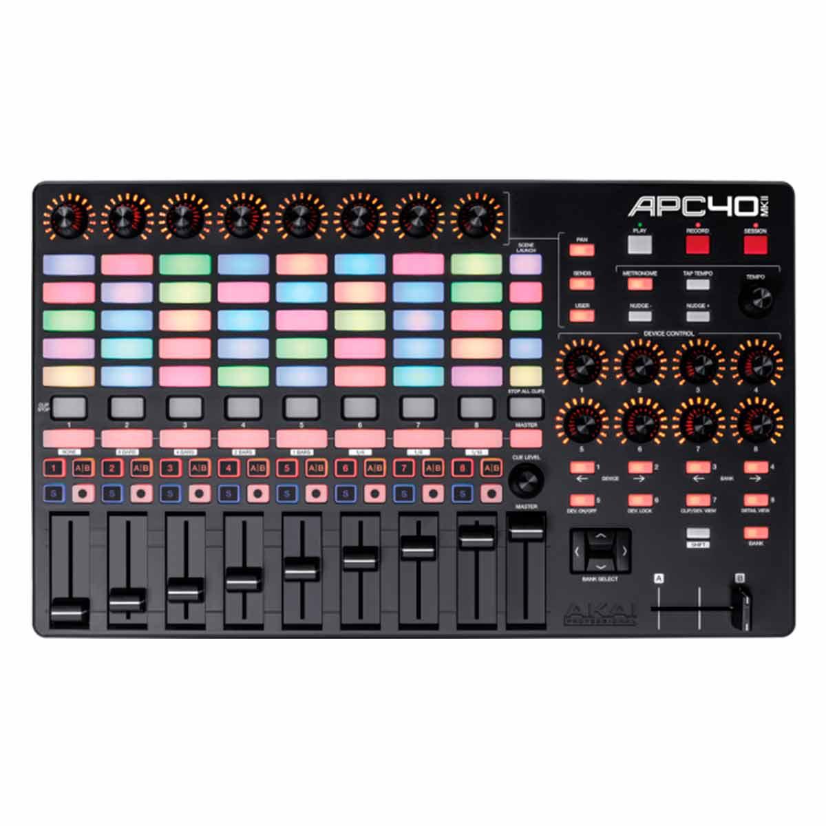 APC40MKII - Controlador MIDI  USB p Ableton Live APC 40 MK II - AKAI