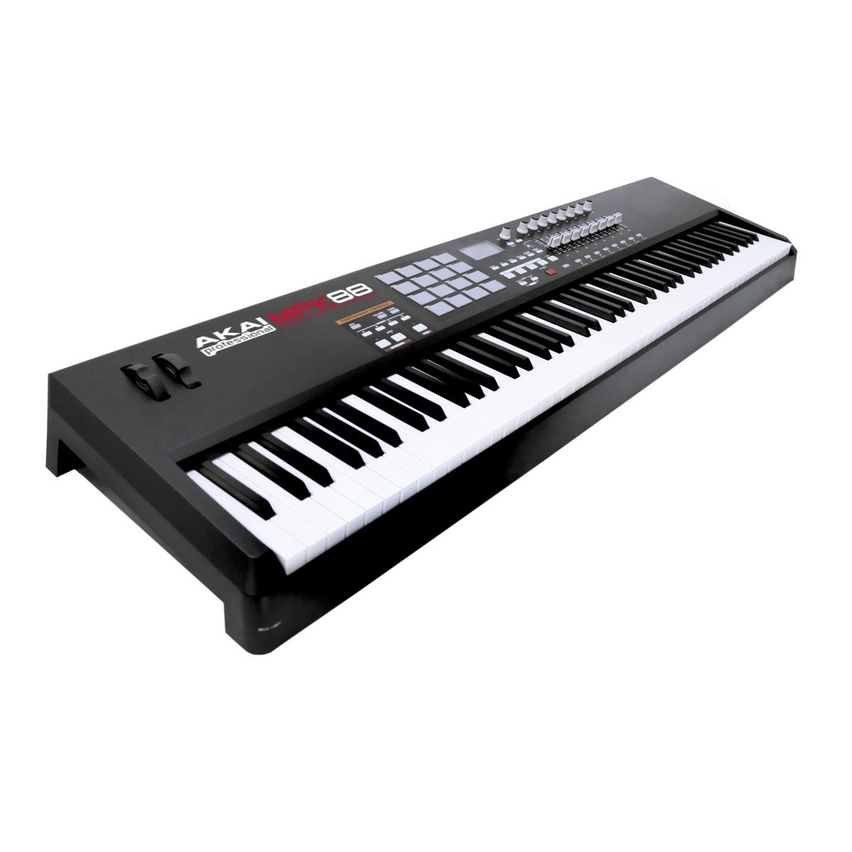 MPK88 - Teclado Controlador MIDI / USB MPK 88 - AKAI