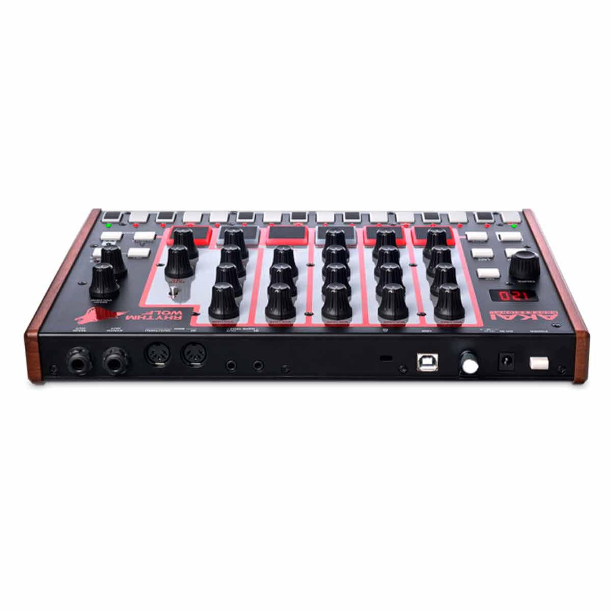 Rhythm Wolf - Bateria Eletrônica e Sintetizador de Baixo - AKAI