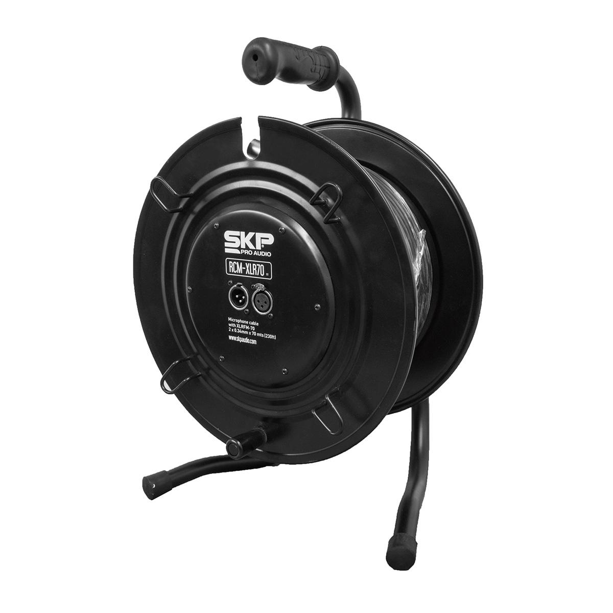 RCMXLR70 - Extensor de Cabo p/ Microfone c/ 70m RCM XLR 70 - SKP