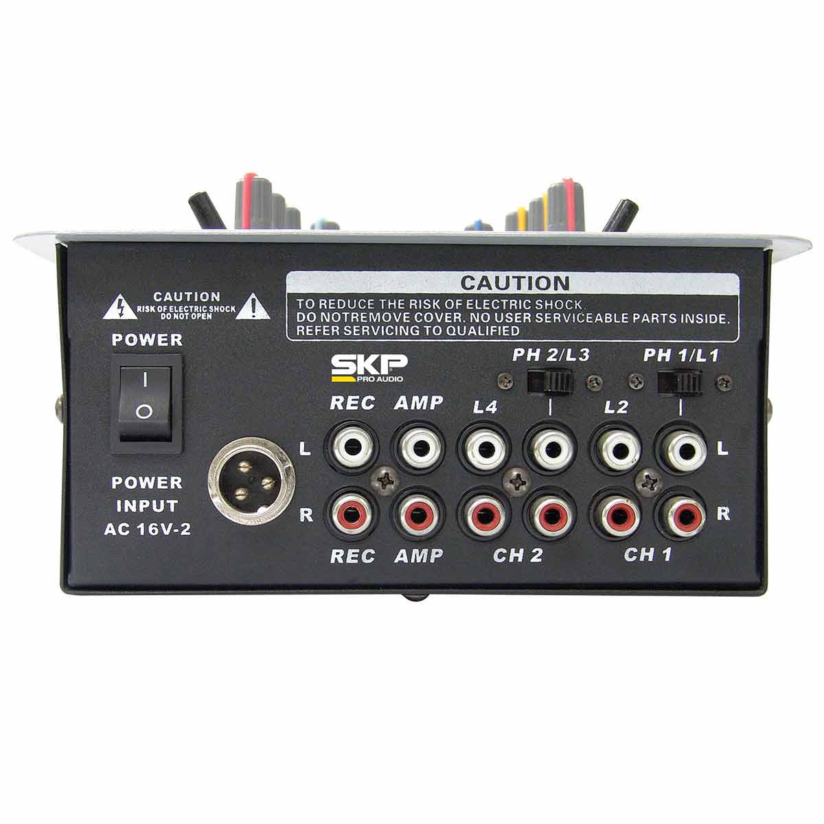SM95 - MIXER DJ 2 CANAIS SM 95 - SKP