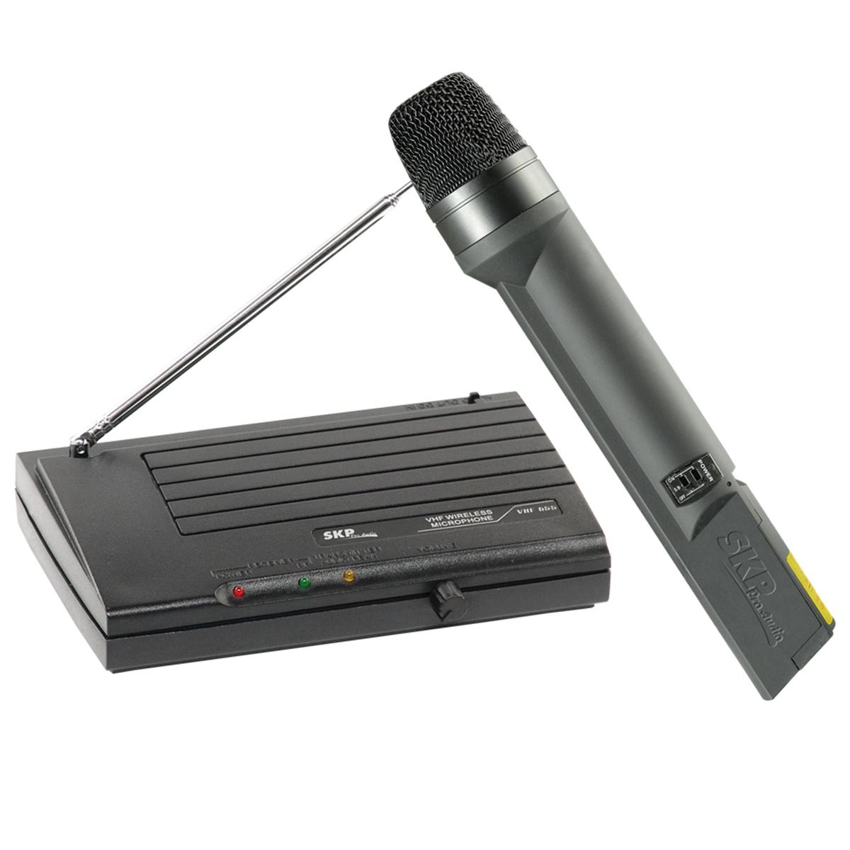 Microfone s/ Fio de Mão VHF 655 - SKP