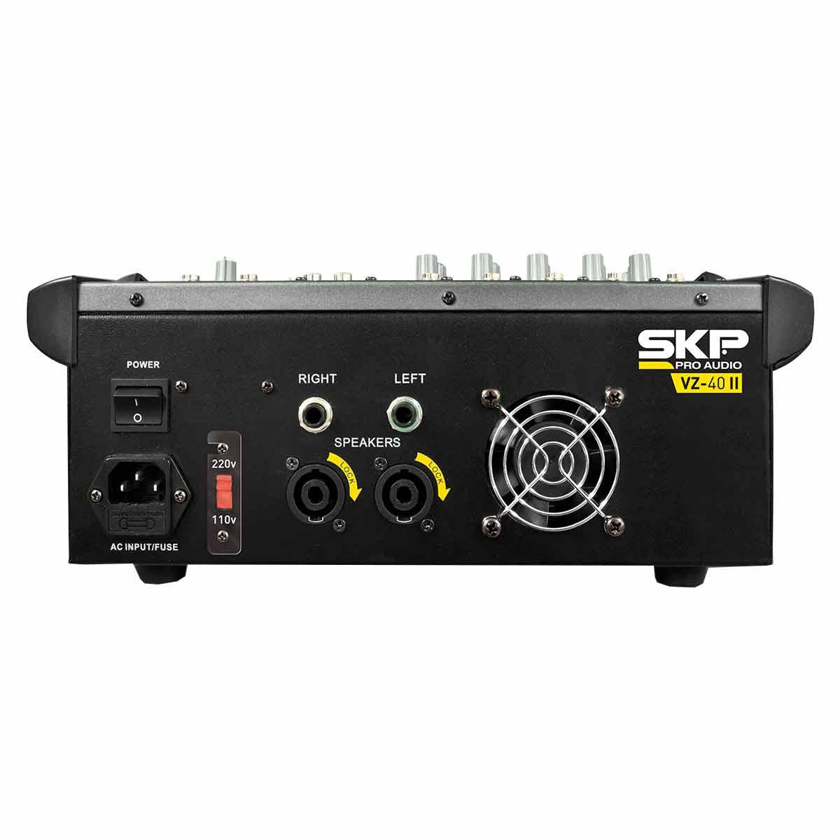 VZ40II - Mesa de Som / Mixer 4 Canais USB VZ 40 II - SKP