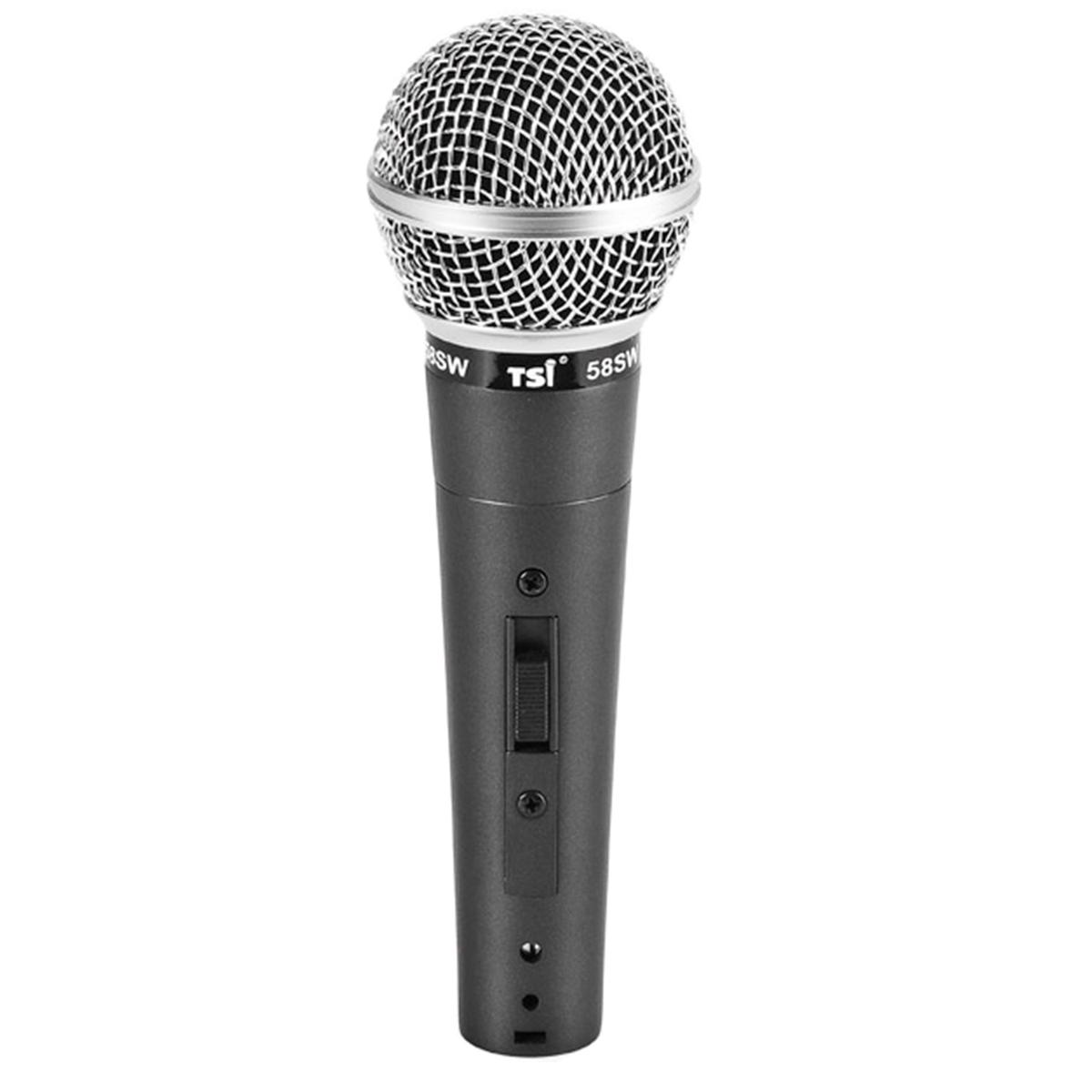Microfone c/ Fio de Mão 58 SW - TSI