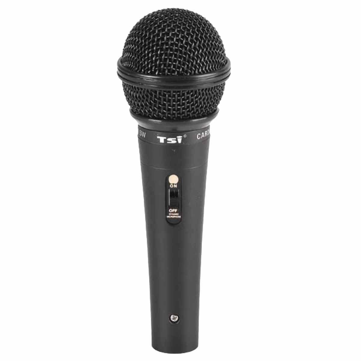 Microfone c/ Fio de Mão Dinâmico - 601 SW TSI
