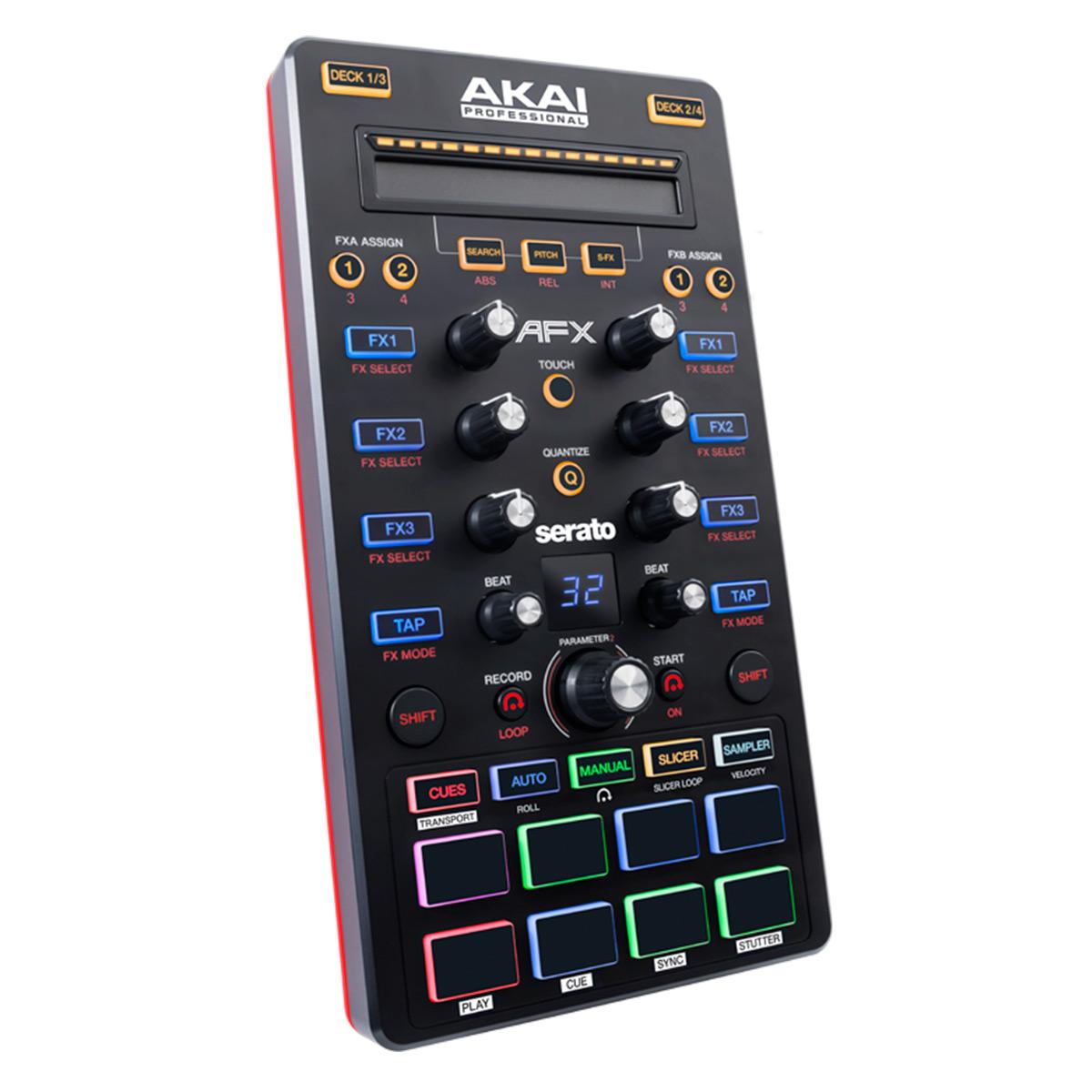 Controladora MIDI / USB p/ Serato AFX - AKAI