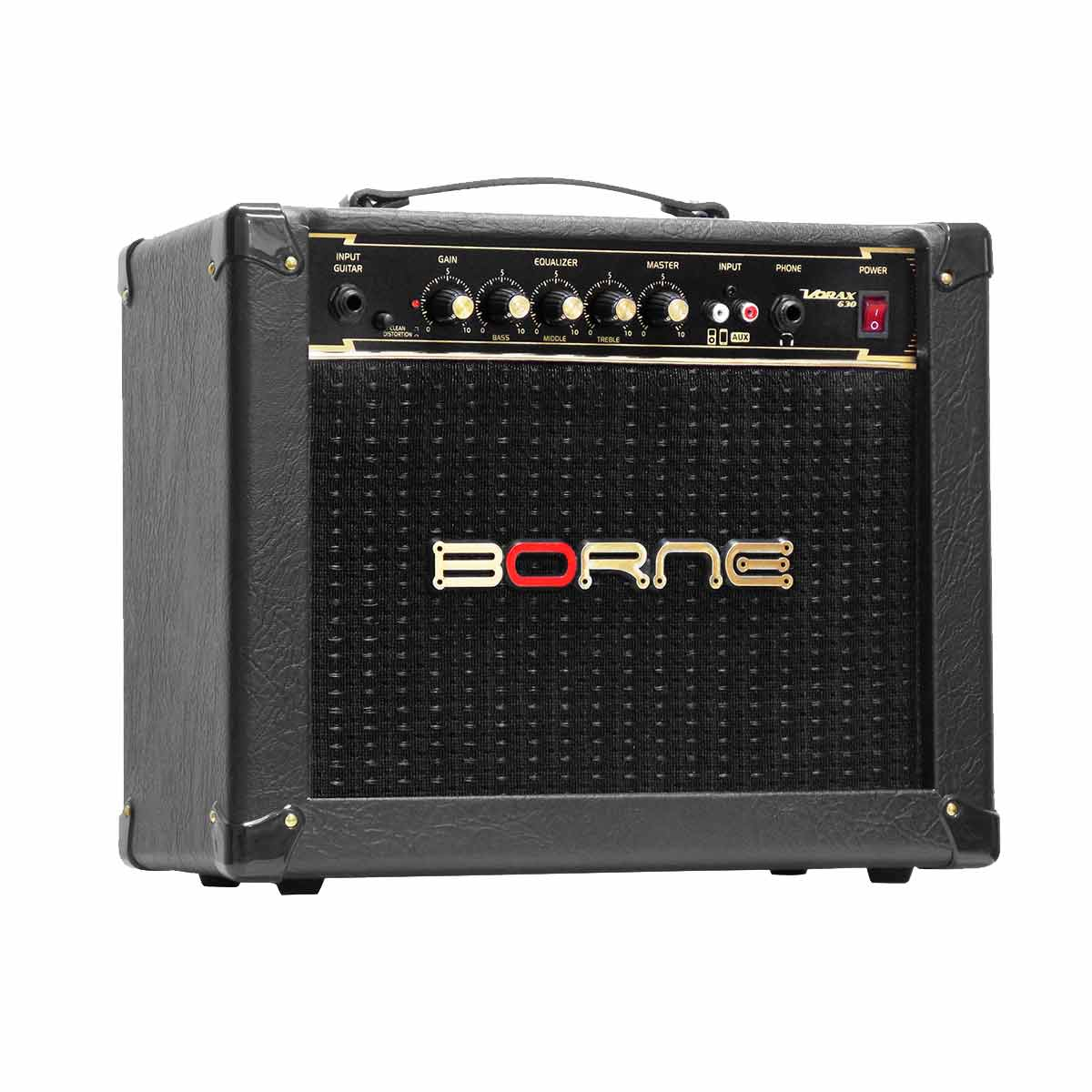 Vorax630 - Amplificador Combo p/ Guitarra 25W Vorax 630 Preto - Borne