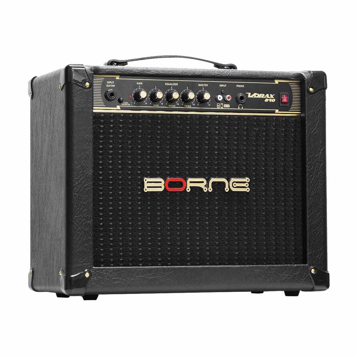 Amplificador Combo p/ Guitarra 40W Vorax 840 Preto - Borne