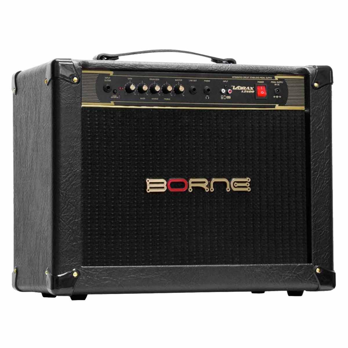 Vorax12100 - Amplificador Combo p/ Guitarra 100W Vorax 12100 Preto - Borne