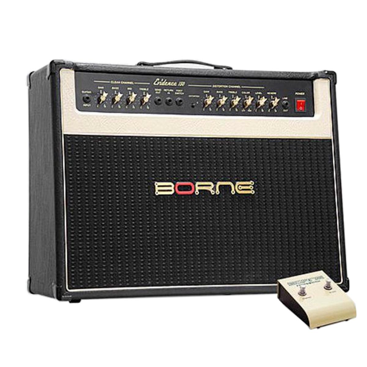Evidence150 - Amplificador Combo p/ Guitarra 100W Evidence 150 Preto - Borne